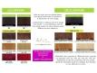 Instructions pour les colorations et décolorations