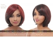 Perruque Invisible Lace Wig Harmonia JANET COLLECTION - Couleur WC4/350