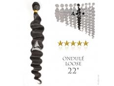 Tissage brésilien ondulé Loose Wave - 22 pouces, 100 grammes