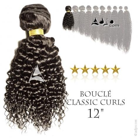 """Tissage brésilien bouclé haut de gamme Classic Curls 30 centimètres (12"""")"""