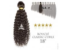 """Tissage brésilien bouclé Classic Curls Vierge Remy 45 centimètres (18"""")"""