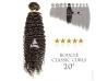Tissage brésilien bouclé Classic Curls Vierge Remy 20