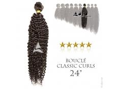 """Tissage brésilien bouclé Classic Curls Vierge Remy 60 centimètres (24"""")"""