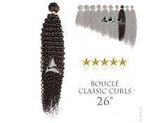 """Tissage brésilien bouclé Classic Curls Vierge Remy 65 centimètres (26"""")"""