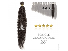 """Tissage brésilien bouclé Classic Curls Vierge Remy 70 centimètres (28"""")"""