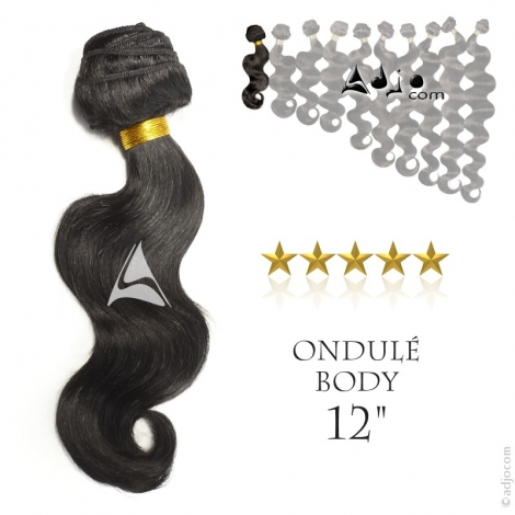 """Tissage brésilien ondulé Body Waves Vierge Remy 30 centimètres (12"""")"""