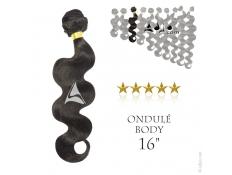 """Tissage brésilien ondulé Body Waves Vierge Remy 40 centimètres (16"""")"""