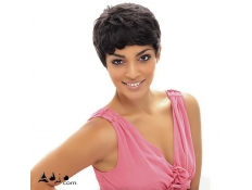 Perruque Brésilienne Courte Cheveux vierges Remy Kandio Wig JANET COLLECTION