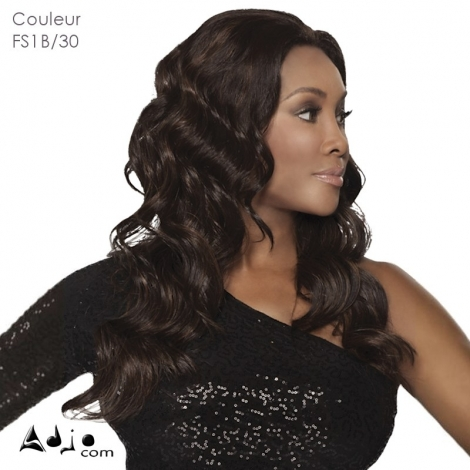 Perruque invisible Lace Wig synthétique Juicy Vivica Fox - Couleur FS1B/30