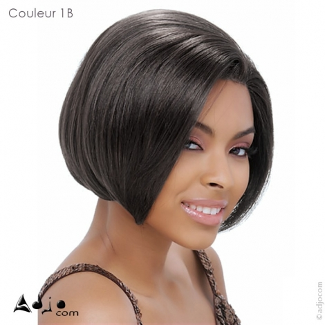 Perruque invisible Lace Wig Remy Cheri Janet Collection - Couleur 1B