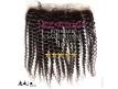 Lace Frontale Tissage brésilien bouclé - Cheveux Brésiliens Naturels Vierges et Remy - 16 pouces