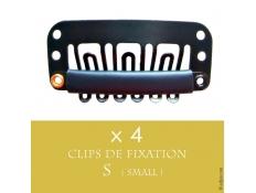 Clips Caoutchoutés Fixation Perruque classique ou Lace Wig x4