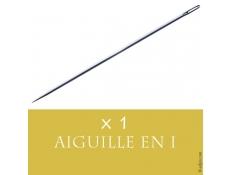 Aiguille Droite pour Tissage Cheveux - Longueur 8,5 centimètres