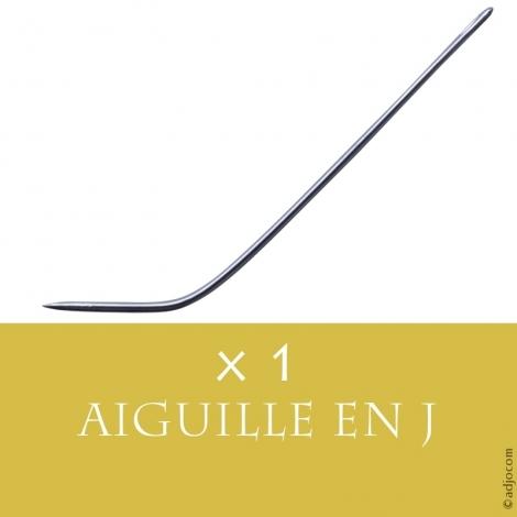 Aiguille Courbe en J pour Tissage Cheveux - 6,5 centimètres de long