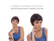 Perruque courte cheveux brésiliens naturels remy hair vierges