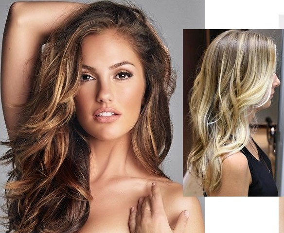 How To Balayage Technique Images