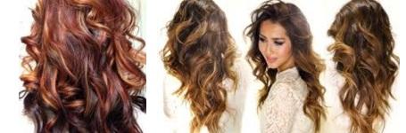 Style de couleur de cheveux
