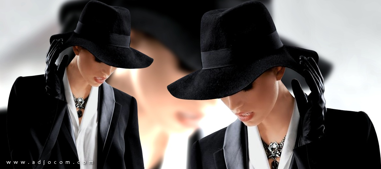 fedora star des chapeaux chapeau des stars adjocom. Black Bedroom Furniture Sets. Home Design Ideas