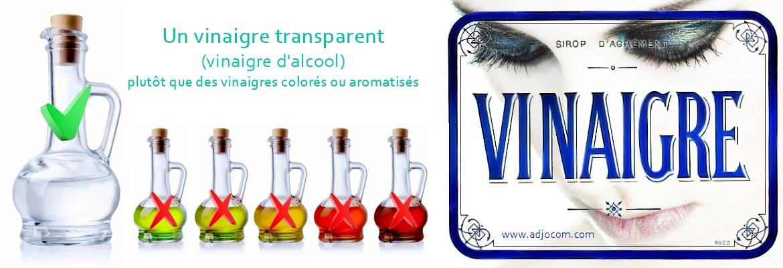 Enlever une couleur de cheveux avec du vinaigre