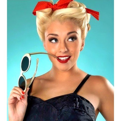 Victory Rolls Pin Up Playmate