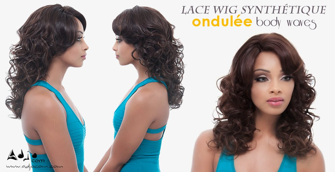 Perruque invisible W-PART Lace Wig Eos Janet Collection