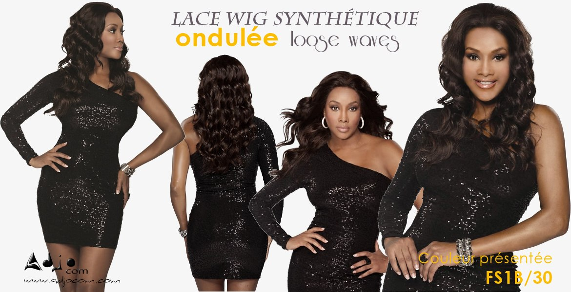 Perruque invisible LACE WIG JUICY Wig VIVICA FOX HAIR
