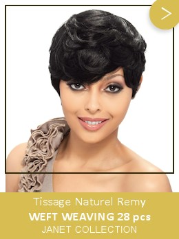 Tissage Naturel Remy Weft Weaving 28pcs JANET COLLECTION