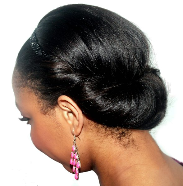 Chignon Rouleau (Tuck'n'Roll, Queue Curl)