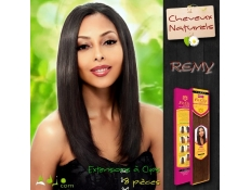"Extensions naturelles remy à clips ""Magic Yaky"" (8 pièces) Janet Collection"