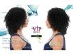 Closure Lace Top Water Deep - Cheveux naturels bouclés qualité REMY 14 pouces