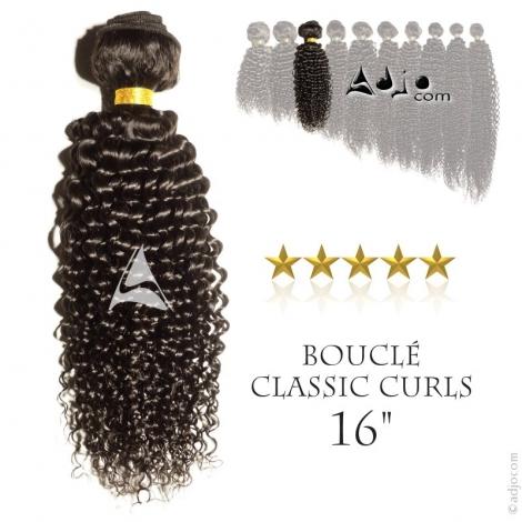 """Tissage brésilien bouclé Classic Curls Vierge Remy 40 centimètres (16"""")"""