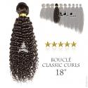 Tissage brésilien bouclé Classic Curls Vierge Remy 18