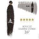 Tissage brésilien bouclé Classic Curls Vierge Remy 26