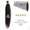 Tissage brésilien bouclé Classic Curls Vierge Remy 30