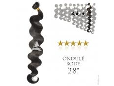 """Tissage brésilien ondulé Body Waves Vierge Remy 70 centimètres (28"""")"""
