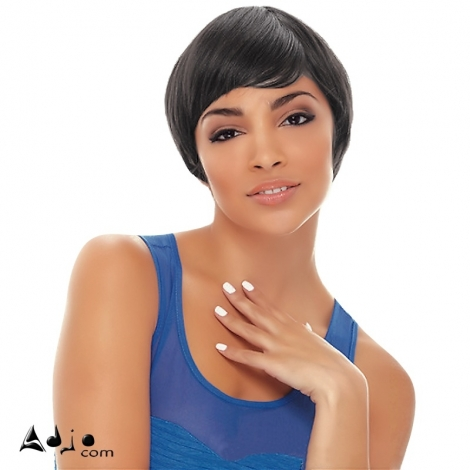 Perruque Brésilienne lisse Courte Cheveux vierges Remy Berryo JANET COLLECTION