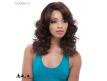 Perruque indétectable Lace Wig synthétique Ondulée Eos Janet Collection