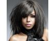 Coiffure cheveux lisses mi-longs 12 pouces
