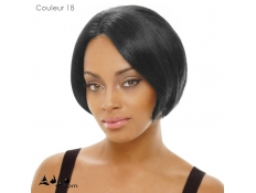 Perruque invisible Lace Wig synthétique Mini Janet Collection - Couleur 1B