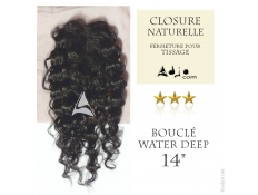 "Closure Lace Top Water Deep - Cheveux Naturels Remy - Janet Collection - 14"", 20 grammes"