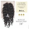 Closure Lace Top Water Deep 14 Cheveux Remy Janet Collection