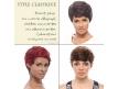 Tissages Brésiliens Courts - Cheveux brésiliens naturels vierges et remy