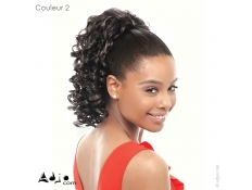 Queue de cheval Synthétique Bouclée - JANET COLLECTION - Nom du modèle 'Orange DS'
