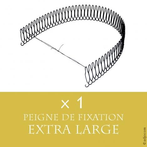 Peigne de fixation pour perruques ou Lace Wigs - Extra Long (25 centimètres)
