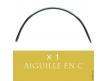 Aiguille Courbe en Demi-Cercle pour Tissage Cheveux