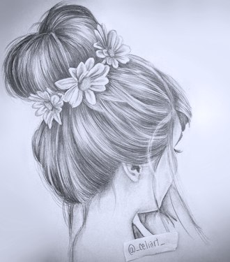 Messy Bun Drawing Tumblr Messy Bun By Lauragranholm On Deviantart