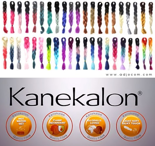 X-Pression Kanekalon Braids