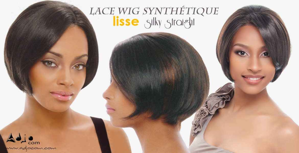 Perruque invisible Lace Wig synthétique Mini Janet Collection