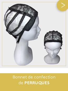 Accessoires - bonnet de confection de perruques