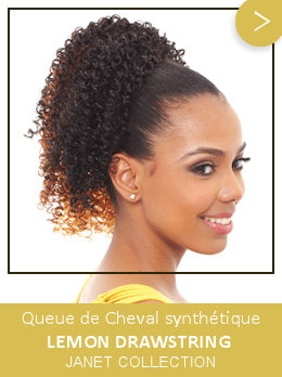 Queue de Cheval bouclée synthétique